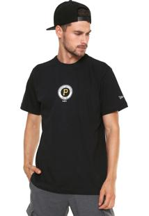 Camiseta New Era Pittsburgh Pirates Preta d1b1fe73ba2d6