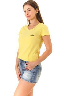 Camiseta Opera Rock T-Shirt Amarela
