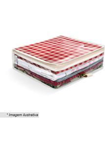 Organizador De Toalha De Mesa- Incolor & Bege- 10X36Boxmania