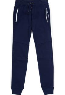 Calça Polo Ralph Lauren Jogger Performance Azul-Marinho/Branca