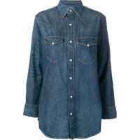 174f6d34bad46 Farfetch. Polo Ralph Lauren Denim Button Shirt - Azul