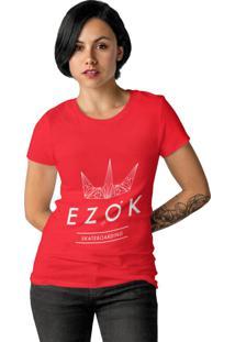 Camiseta Ezok Urban Vermelho