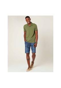 Bermuda Jogging Jeans Estampado Masculina Malwee