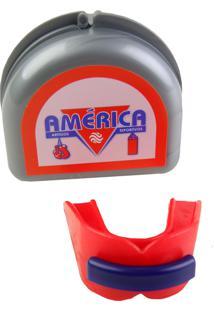 Protetor Bucal Duplo Vermelho América