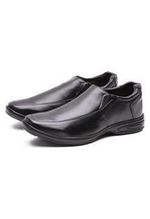 Sapato Versales Social Confort Leve Preto