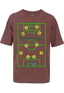 c0d406e0fb Camiseta Oxer Básica - Masculina - Vinho - Quadrado - Vinho