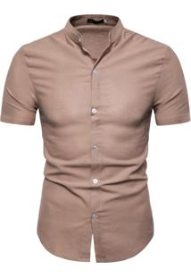 Camisa Toulouse - Caramelo