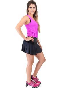 Shorts-Saia Cajafit Godê Preto