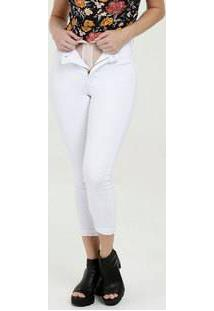 Calça Feminina Sarja Cigarrete Super Lipo Modeladora Sawary
