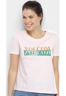 Camiseta Volcom Stoked On Stone 2 Feminina - Feminino
