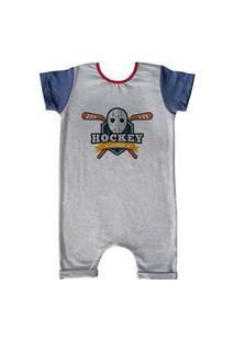 Pijama Curto Comfy Hockey