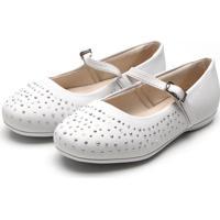 0e8072f3ab Sapatilhas Para Menina Bailarina Branca infantil