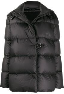 Fay Oversized Puffer Jacket - Preto
