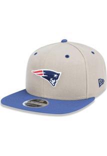 02bbb8d13a2d1 Boné 950 Original Fit New England Patriots Nfl Aba Reta Snapback New Era -  Masculino