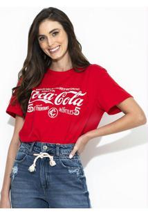 Camiseta Aroma Coca-Cola Vermelha