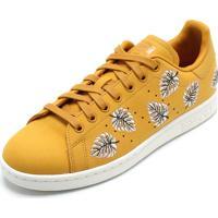 dce9074934c2f Dafiti. Tênis Couro Adidas Originals Stan Smith W Amarelo
