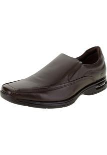 Sapato Masculino Social Air Spot Democrata - 448027 Café 38