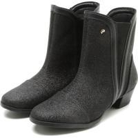 48327c1664 Bota Para Menina Pampili Preta Ziper infantil | Shoes4you