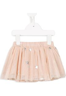 Stella Mccartney Kids Saia De Tule - Rosa