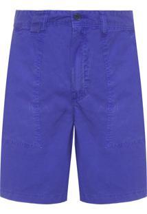 Bermuda Masculina Paper - Azul