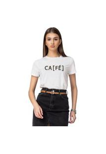 Camiseta Basica Joss Cafe Branca