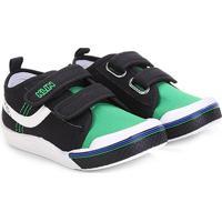 d6c8c79b7c6 Tênis Infantil Klin Toy Velcro Masculino - Masculino-Preto+Verde
