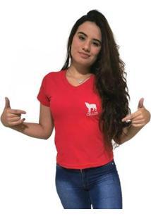 Camiseta Gola V Cellos Howled Premium Feminina - Feminino