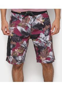 Boardshort Mcd Crows Eye Masculina - Masculino