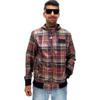 Compre Jaqueta Bomber Chess Clothing Xadrez Preto Vermelho por R  119.99.  Jaqueta Aberta Maresia Xadrez Com Capuz Red 4487054c5e6