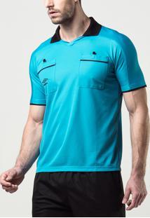 4b8b8cf4996d1 Camisa Masculina Arbitro (Referee)
