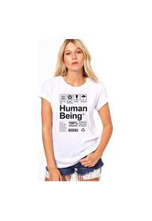 Camiseta Coolest Human Being Branco