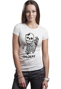 Camiseta Hunter I'M Okay Branca