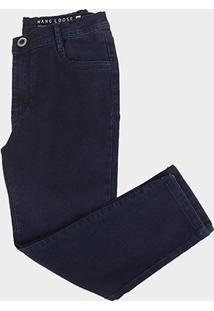 Calça Jeans Juvenil Hang Losse Five Masculina - Masculino-Azul