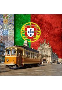 Quadro Impressão Digital Portugal 30X30