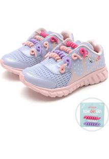 fd3d57160 Tênis Para Meninas Fashion Roxo infantil