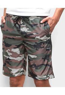 Bermuda Oakley Camo Reversible Masculina - Masculino