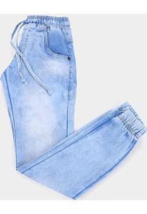 Calça Jeans Jogger Juvenil Bnb Básica Masculina - Masculino