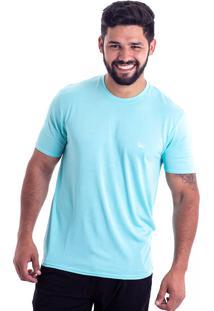 cb88662091 Camiseta Proteção Solar Oracon Masculino Azul Claro 1196-15 - G