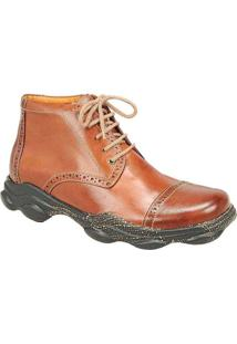 Bota Masculina Urban Adventure Tan