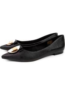 Sapatilha Trivalle Shoes Mini Snake Preta