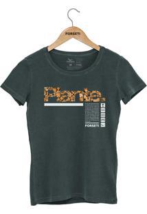 Camiseta Forseti Estonada Plante Verde - Kanui