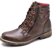 799d1c582e Bota Coturno Masculino Top Franca Shoes Cafe