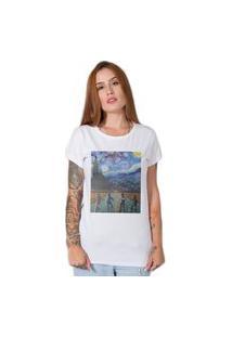 Camiseta Stranger Things X Van Gogh Branco