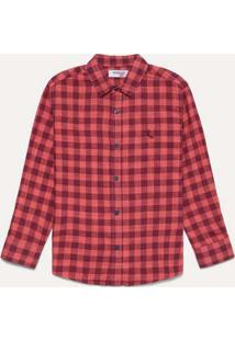 Camisa Mini Pf Ft Boa Vista Reserva Mini Vermelho