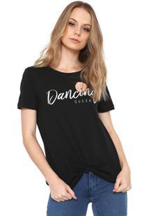 Camiseta Only Dancing Queen Preta