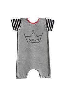 Pijama Curto Comfy Queen