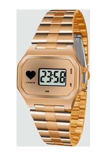 6bf9bfa63ac Relógio Feminino Digital Lince Sdr4480L Brrx