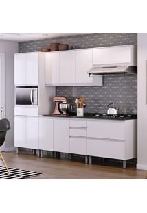 Cozinha Compacta Belíssima Plus 11 Pt 5 Gv Branca E Granito Slate