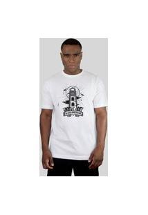 Camiseta Bleed American Lighthouse Branca