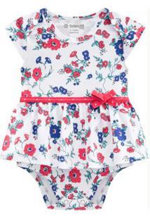 Vestido Bebê Menina Branco
